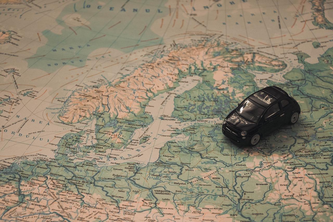 L'Europa in auto: itinerari di viaggio